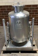 Mueller 250 Liter Dumping Tilting 316l Stainless Steel Tank Pressure Vessel