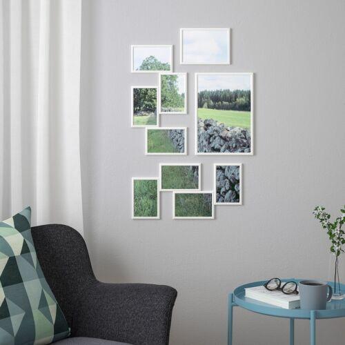 IKEA yllevad Cadre photo 5x7 Pouces A4 21X30 cm 13x18 cm Noir Blanc Cadre Photo