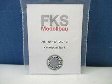 FKS Spur N 160-060-01 - Kanaldeckel Typ 1, Set mit 5 Stück  WT4633
