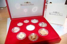 1 Cent bis 2 Euro und 5 Euro !!! 2004 Monaco offizieller KMS PP im Etui