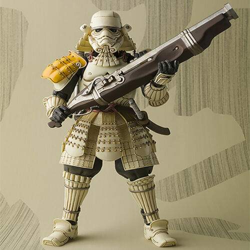Star Wars Teppo Ashigaru Sandtrooper PVC Action Figure Collectible Model Toy