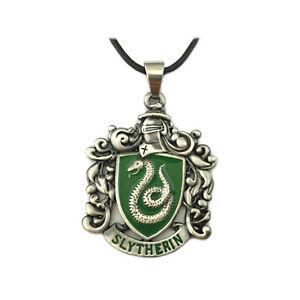 New-Harry-Potter-Slytherin-Crest-Pendant-Necklace