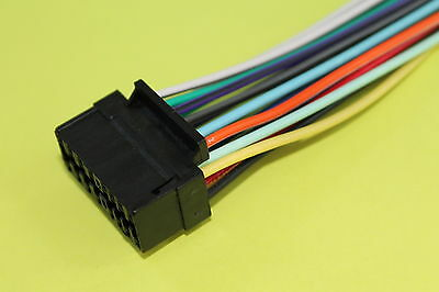 Wire Harness for SONY XAV-63 CDX-GT210 CDX-GT430IP CDX-F5710 CDX-CA810X NEW #L