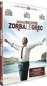 DVD-ZORBA-LE-GREC-Anthony-Quinn-Irene-Papas-Alan-Bates-NEUF-cellophane