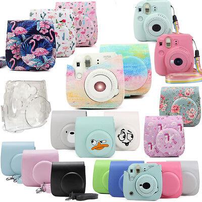 NUOVA Borsa Custodia protettiva fotocamera con cinturino per Fuji Fujifilm Instax Mini 8//8 //9