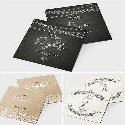 Intellective Personalised Wedding Tavolo Numero/nome Carte-vintage Rustico Temi #068- Un Arricchimento E Nutriente Per Il Fegato E Il Rene