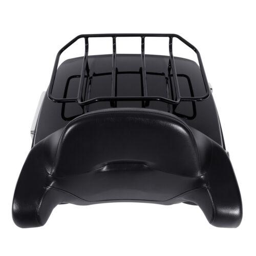 Rack Backrest For Harley Street Road Glide 2014-2020 King Tour Pak Pack Trunk