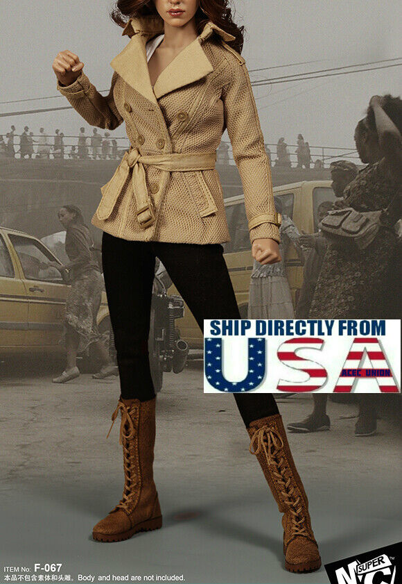 1 6 Scarlett Johansson Stealth Suit For 12  Hot Toys PHICEN Figure USA IN STOCK