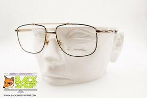 Quai-ouest Mod. 82t E26 Vintage Men's Aviator Frame, Rare Vintage Eyeglasses 80s Et Aide à La Digestion