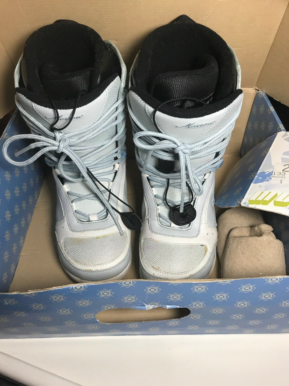 LADIES   MORROW   bluee Ice Snow BOARD BOOTS - EXCELLENT CONDITION Size 7