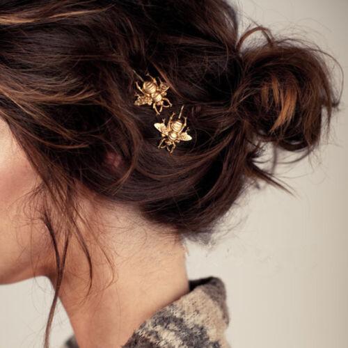 3PCS Women/'s Metal Crystal Rhinestone Bobby Hair Pin Barrette Clip Hairpin