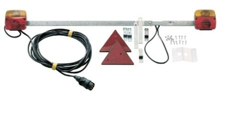 Dreifunktionsanhängerleuchte Traversenleuchte Anhänger Licht 100-160cm ausziehba