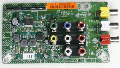 """Sanyo 26/"""" DP26671 CEK677A Side AV Board Motherboard Unit"""