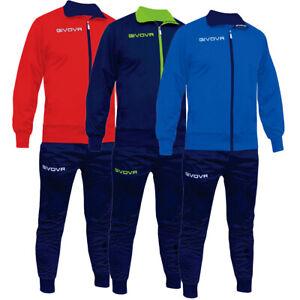 Completo-Tuta-Sportiva-GIVOVA-Torino-Uomo-Donna-Bambino-Unisex-Sport-Comfort