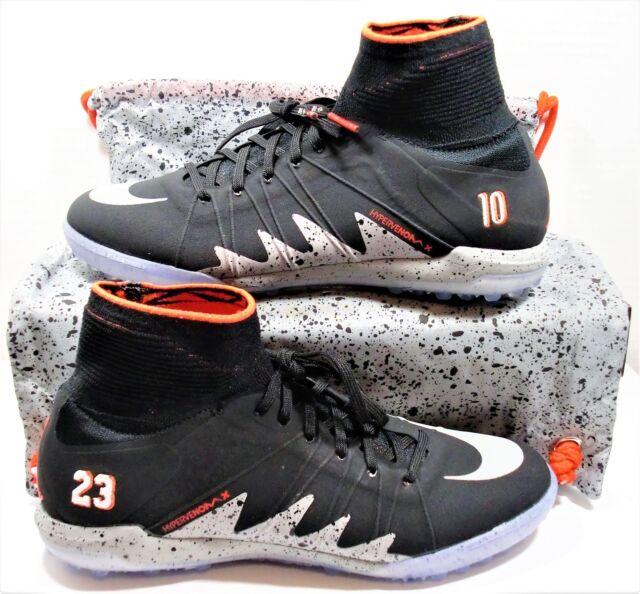 watch 5dec5 b521d Nike Hypervenom X Proximo NJR TF Neymar Jordan Turf Cleats Sz 12 NEW 820134  006