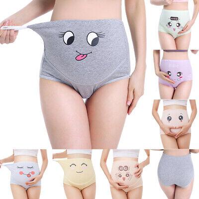 Embarazo Ropa Interior Ajustable Suave Apoyo El Vientre Bragas para Pantalones Cortos Paquete de 2 BOZEVON Bragas de Maternidad