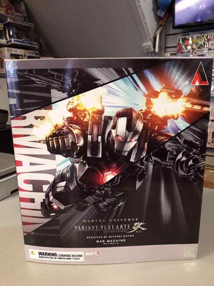 MARVEL Universo variante Jugar Arts máquina de guerra  Iron Man 2  - Nuevo