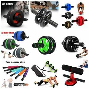 Abdominal-Waist-Workout-Exercise-Gym-Fitness-Wheel-AB-ROLLER