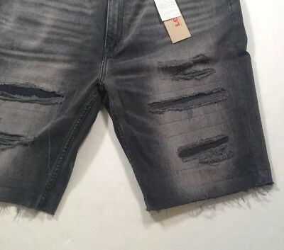 Levis Levi's Men 511 Slim Distressed Ripped Repaired Cutoff Jeans Shorts Pants | eBay