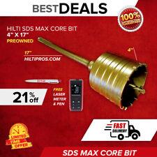 Hilti Te Y Bk Hammer Core Bit 4 X 17 Preowned Free Laser Meter Fast Ship