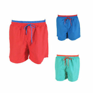 Mens-Swim-Board-Shorts-Boardies-Beach-Casual-Elastic-Waist-Two-Tone-S-M-L-XL-2XL
