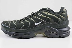 Nike Air Max Plus Sequoia White Neutral Olive Green 852630 301 Size ... 6ddc77e51
