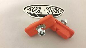 Kool Stop BMX Continental Orange Brake Pads Sold In Pairs Old School BMX Tuffs