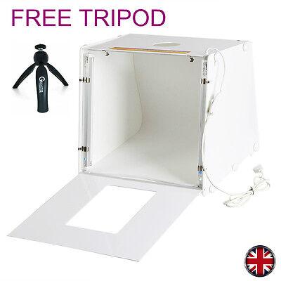 Professional Photography GRAVITIS® Portable Mini Photo Studio Box Backdrops,