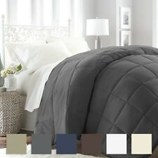 Premium Goose Down Alternative Comforter - 6 Classic Colors - Simply Soft