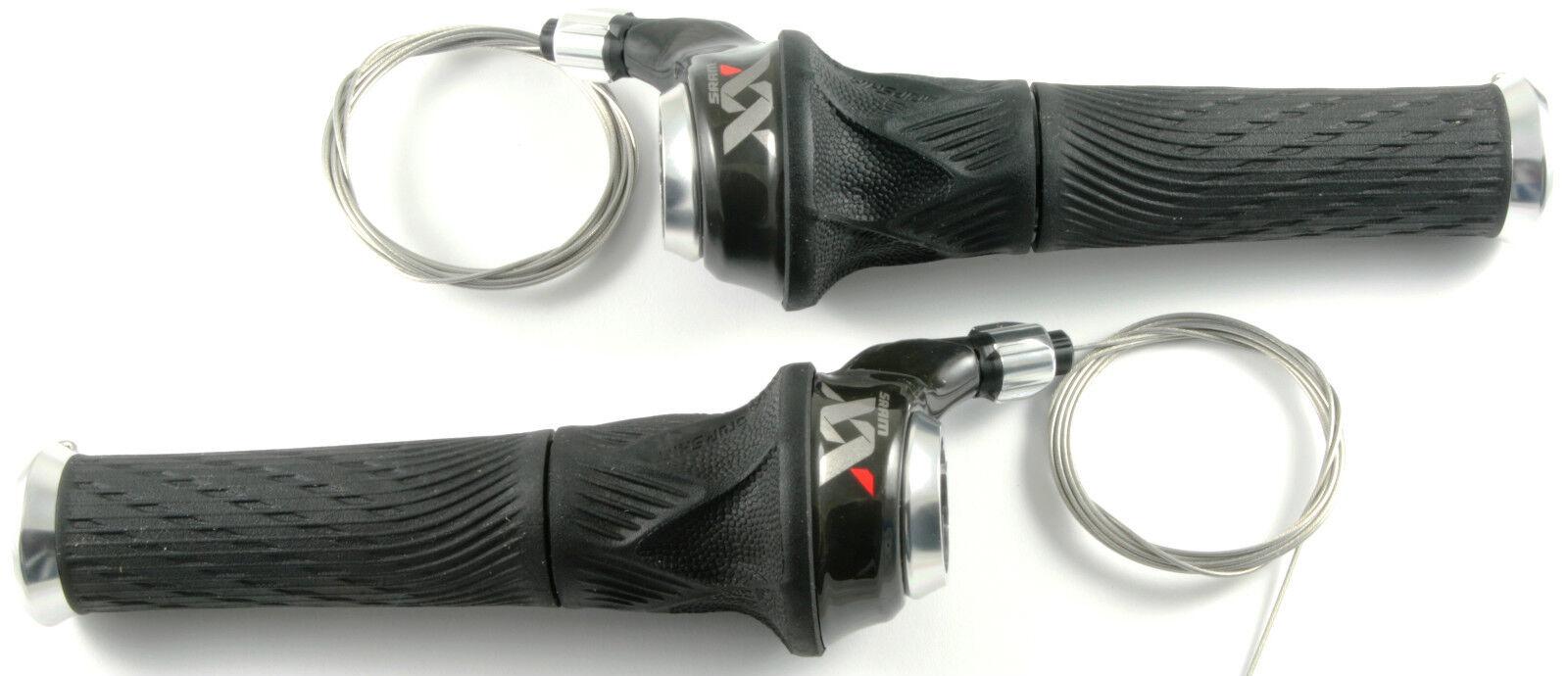SRAM xx 2 & 10 Grip Shift palanca set 2013 desencadenadores x.x Twister shifter
