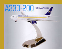 Dragon Wings 1:400 Iberworld A330-200 56073 With Chrome Stand Airliner Airplane