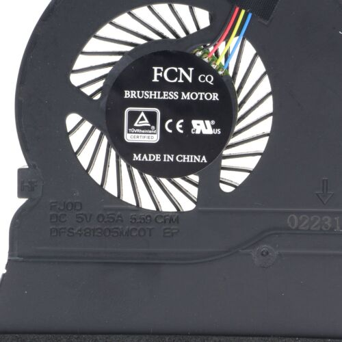 NEW CPU Cooling Fan For Dell Inspiron 5565 5567 5767 0789DY DFS481305MCOT