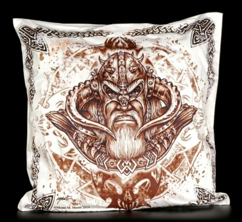 Funda de almohada-Loki vikingo Dios almohada funda de almohada decorativas 45x45