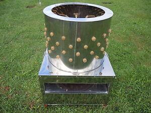 Rupfmaschine,Hühner,Enten,Gänse,Trommel 60 cm,2200 Watt, am 8.12.18 lieferbar