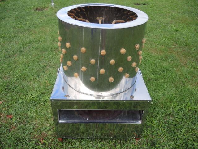 Rupfmaschine,Hühner,Enten,Gänse,Trommel 60 cm,2200 Watt, ab 15.3.2019 lieferbar