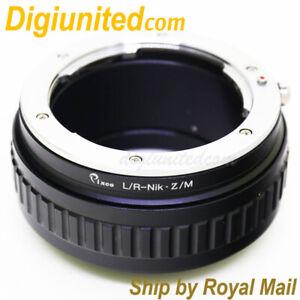 Leica-R-L-R-LR-lens-to-Nikon-Z-mount-Mirrorless-camera-adapter-macro-helicoid-Z6