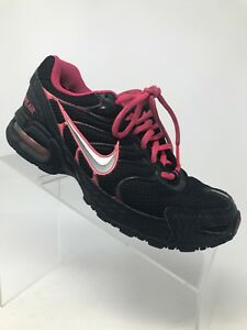 hot sale online 48a0b bc833 Image is loading Nike-Air-Max-Torch-4-Black-Pink-Running-