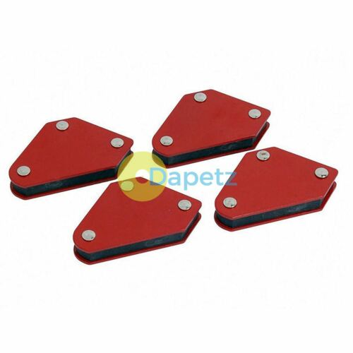 4pc 10lb Welding Magnet Right Angle Square Holder Soldering Durable