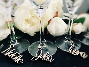 Mariage-Personnalise-Bois-Amour-Etiquette-Vin-Breloque-Rustique-Fete-Faveurs
