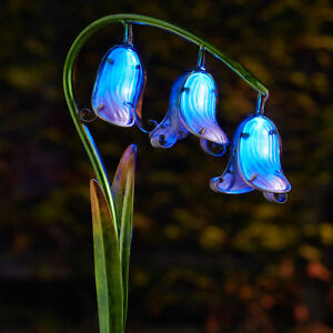 2-Pack-Solar-Power-LED-Light-Up-Bluebell-Flower-Path-Stake-Lights-Garden