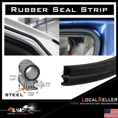 "Rubber Seal Car Door Protector Edge Trim Guard Strip Window Trunk Lock Bulb 144/"""