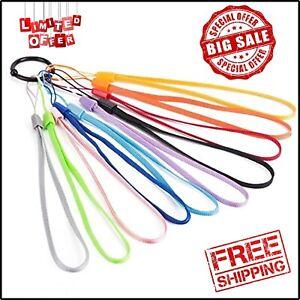 Wisdompro 6 Pack of 8 Inch Hand Wrist Lanyard Strap String