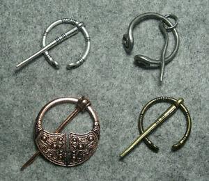 Fibel Schmuckspange Keltische Knoten Kelten Wikinger Ringfibel Larp 4