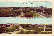 two views of MARION NATIONAL SANITARIUM, MARION, IND. 1923