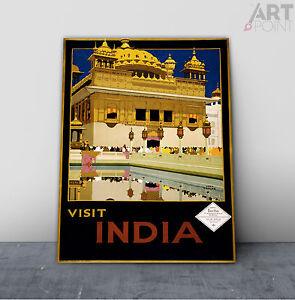 AIR INDIA 1 A3 vintage retro travel /& railways posters art print wall decor #3