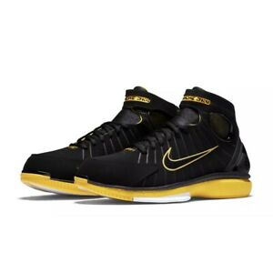 best authentic 7c79e a2f05 Details about Nike Air Zoom Huarache 2K4 Black Varsity Maize Kobe  308475-003 MULTI SIZES