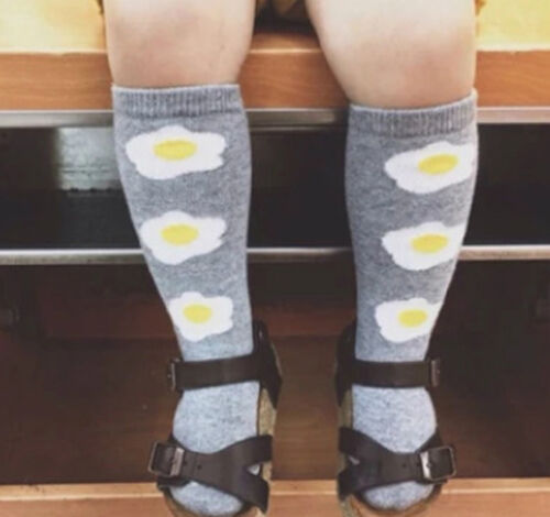Baby Toddlers Girls Cotton Knee High Socks Tights Leg Warmer Stockings For 0-6Y
