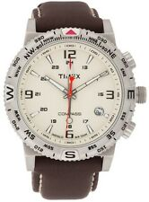 Timex Adventure Series Leather Mens Watch T2P287