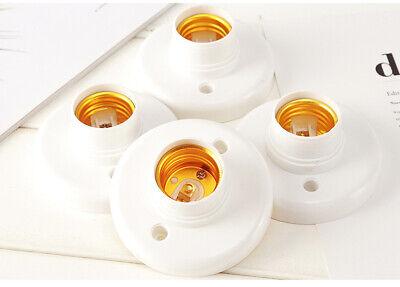 10pcs E27 6a Lampenfassung Sockel Deckenfassung Birnenfassung Led Lampe Halter Seien Sie Im Design Neu