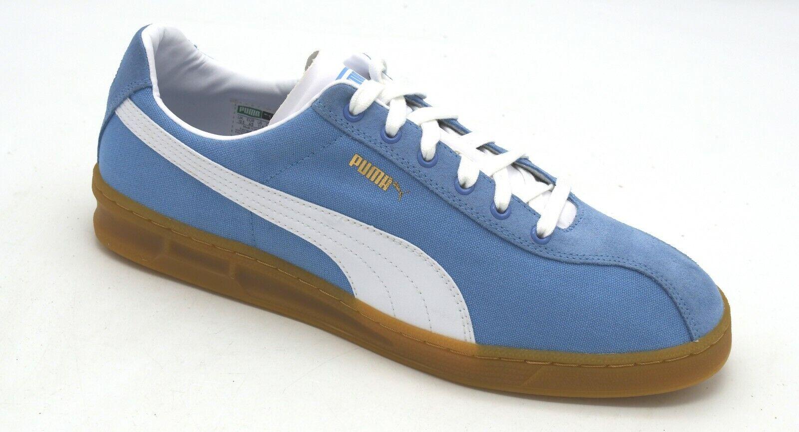meet f40ec 8e611 J8041 New Mens Puma TK Indoor Summer Allure White Suede Sneaker 11.5 M